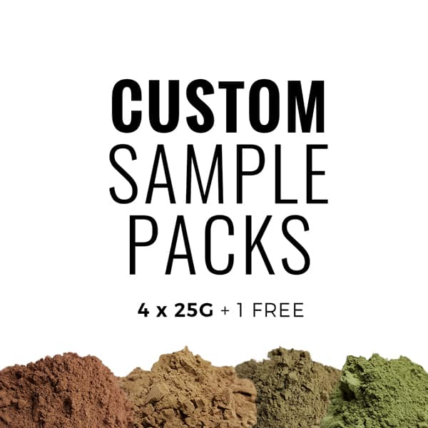 Custom Sample Pack - 4 x 25 + 1 FREE